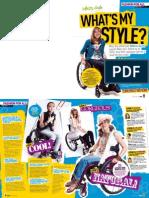 GEM - New Look's internal magazine makes-over Rebecca, wheelchair-user, 16.