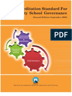Accreditation Standard for Schools