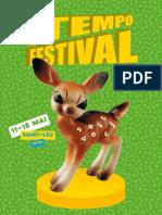 Programme Tempo Festival 2010