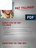 final project pat tillman