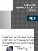 Evolucion Historica Hacia La Calidad