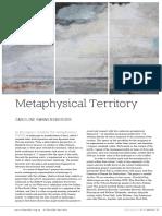 Metaphysical Territory Art Monthly Rannersberger