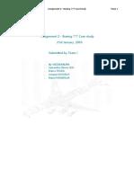 Boeing 777 CaseStudy Solution