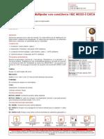 N2XY 0 6 1 KV Multipolar Con Cond Tierra IEC 60332 3 CAT A