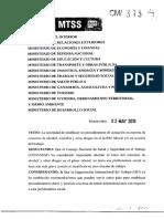 Reglamentación de procedimientos de actuación en materia de consumo de alcohol, cannabis y otras drogas en el ámbito laboral.