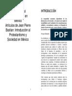 Historia Del Protestantismo en México.