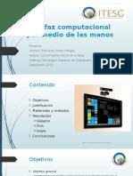 Interfaz Computacional Por Medio de Las Manos