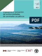 Vigilancia y Zonacion de Enfermedades de Animales Acuaticos