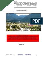 Informe Topografico Agua y Alcantarillado Oxapampa Final Final 3