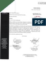 Observaciones al proyecto de reglamento del uso de la fuerza