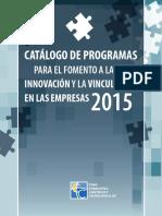 Catalogo Programas 2015