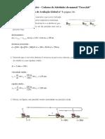 Resolução Da Ficha de Avaliação Global n.º1 FISICA