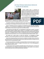 02.05.16 Propone Oscar Almaraz Reestructurar Sistema de Recolección de Desechos