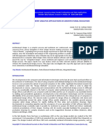 The Use of Finite Element Analysis Applications in Architectural Education
