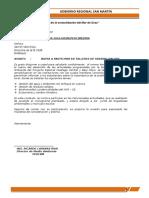OFICIO N° DIA DEL MEDIO AMBIENTE