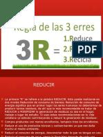 Regla de Las 3 r's