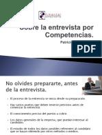 Pres Sobre La Entrevista Por Competencias 2012