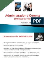 Pres Administrador y Gerente 2012