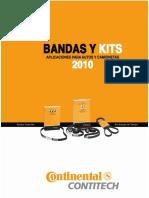 Catalogo Bandas CONTITECH