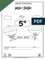 5o. Material de Apoyo Mayo-junio 2015 - 2016