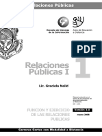 Relaciones Publicas I Modulo 1