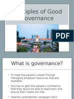 Principles of Good Governance-singapore