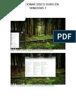 Particionar Disco Duro en Windows 7