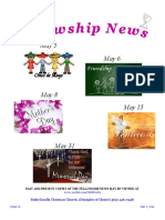 May 3, 2016 The Fellowship News