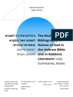 Admiel Kosman-The Multilingual Bibliography of Names of God in the HB and in Rabbinic Literature.pdf