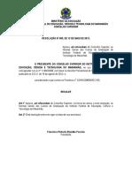 Resolução Nº 055 - Aprova as Normas Gerais de Graduação
