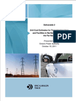 App 11.3 Transmission Unit Cost Study SNC Lavalin