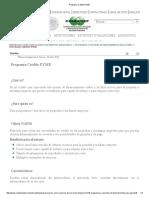 Programa Crédito PYME Condusef