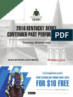 2016 Kentucky Derby