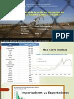 exportadores y importadores en la crisis de petroleo