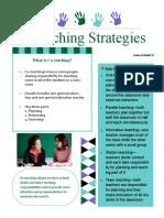 co-teaching strategies