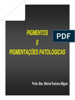 PATOLOGIA Pigmentacoes Patologicas