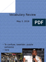 vocabulary review 5-3-16