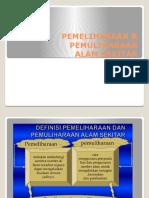 Pemeliharaan & Pemuliharaan Alam f3