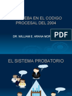 El Sistema Probatorio