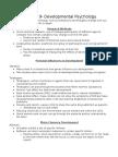 Chapter 9,10,11 AP PSYCHOLOGY