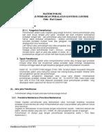 Materi Pokok Perawatan Dan Perbaikan Peralatan Kontrol Listrik
