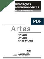 Orientação Teórico-Metodológica de Artes