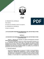PL Equilibrio Financiero 2016