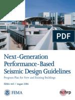 Next Generation Performance Based Design