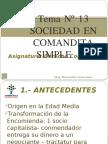 Tema Nº 13 Sociedad en Comanita Simple