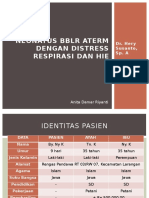 Ppt Neonatus Distress