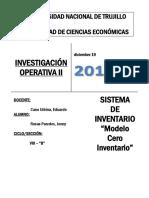 Informe de Operativa II