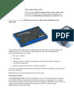 Tipos de Discos Duros SSD