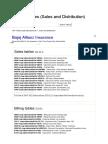 SAP SD Tables (Sales and Distributionn)