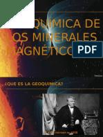 Geoquímica de Los Minerales Magnéticos PRESENTACION